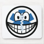 EMT smile Emergency Medical Technician  mousepad