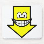 Down smile arrow  mousepad