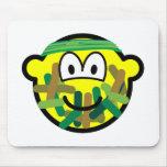 Camouflage buddy icon   mousepad