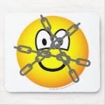 Houdini emoticon   mousepad