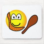 Caveman emoticon   mousepad