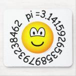 Pi emoticon   mousepad