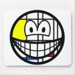 Mondriaan smile   mousepad
