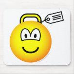 Luggage emoticon   mousepad