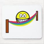 Hammock smile   mousepad