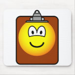 Clipboard emoticon   mousepad