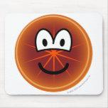 Grapefruit emoticon   mousepad
