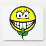 Eve smile   mousepad