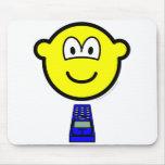 Texting buddy icon   mousepad