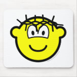 Jesus buddy icon   mousepad