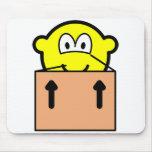 Moving buddy icon   mousepad