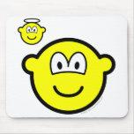 Angel on shoulder buddy icon   mousepad