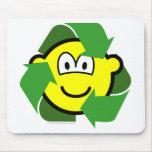Recycle buddy icon version II  mousepad