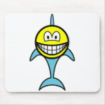 Dolphin smile   mousepad