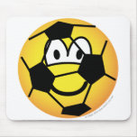 EK 2000 emoticon (if you like soccer)  mousepad