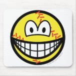 Baseball smile   mousepad