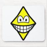 Diamonds smile   mousepad