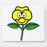 Pansy buddy icon   mousepad