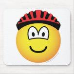 Biker emoticon   mousepad