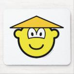 Chinese buddy icon   mousepad