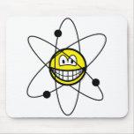 Atom smile   mousepad
