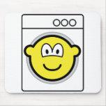 Washmachine buddy icon   mousepad