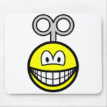 Wind up smile   mousepad