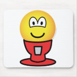 Gumball machine emoticon   mousepad