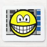 City smile   mousepad