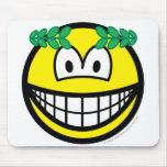 Caesar smile   mousepad