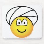 Turban emoticon   mousepad
