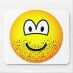 Stubbly beard emoticon   mousepad