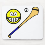 Hurling smile   mousepad