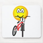 BMX emoticon Olympic sport Cycling mousepad