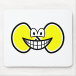 Infinite smile Shape  mousepad