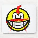 Anarchist smile   mousepad