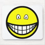 Tiny eyed smile   mousepad