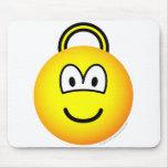 Space hopper emoticon   mousepad