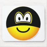 Masked emoticon   mousepad