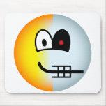 Terminator emoticon   mousepad
