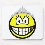 Queen smile   mousepad