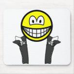 Gunslinger smile   mousepad