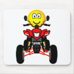 Quad bike emoticon China quad  mousepad