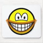 Goatee smile   mousepad