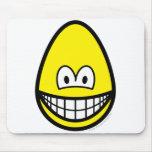 Egg smile   mousepad
