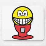 Gumball machine smile   mousepad
