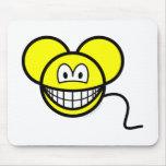 Mouse smile   mousepad