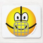 Muzzle emoticon   mousepad