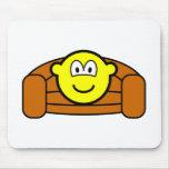 Couch potato buddy icon   mousepad