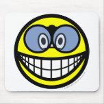 Binoculars smile   mousepad